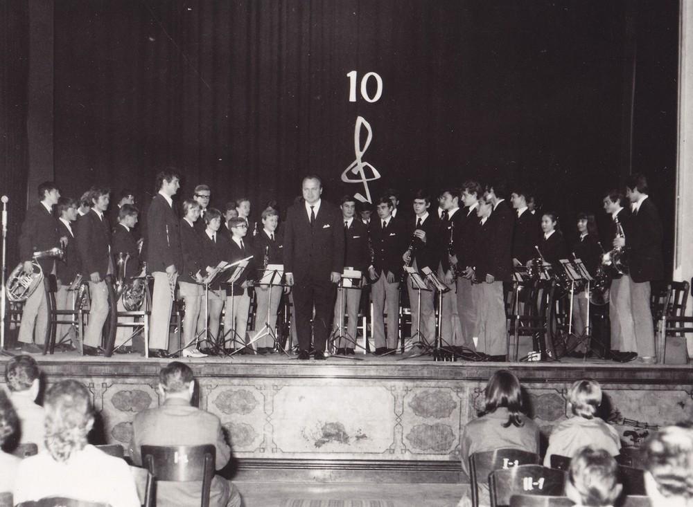 10. výročný koncert 16.05.1972