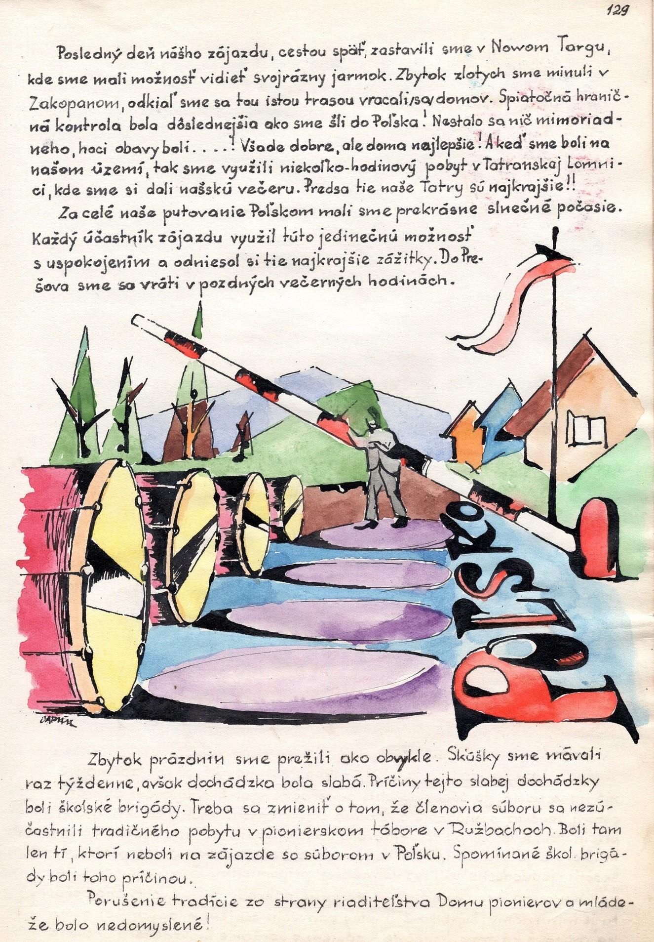 Zlatá Gurka, PĽR 1965