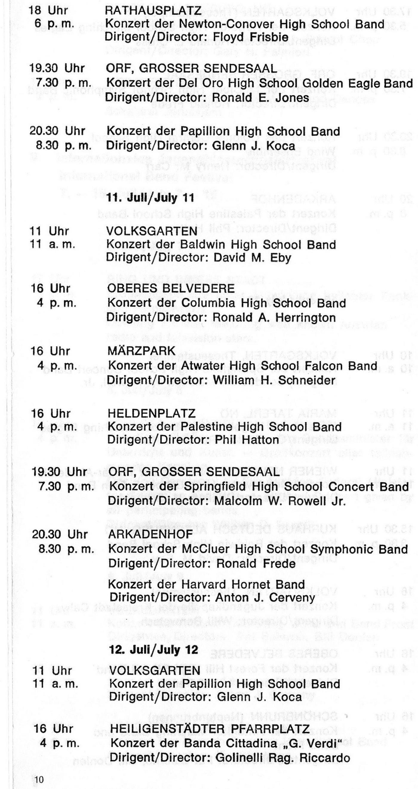 Rakúsko 30.06.-15.07.1973