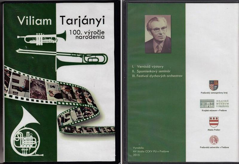 Viliam Tarjányi - 100. výročie narodenia
