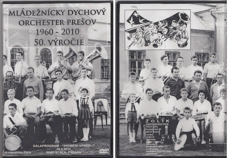 Mládežnický dychový orchester Prešov 1960-2010 - 50. výročie