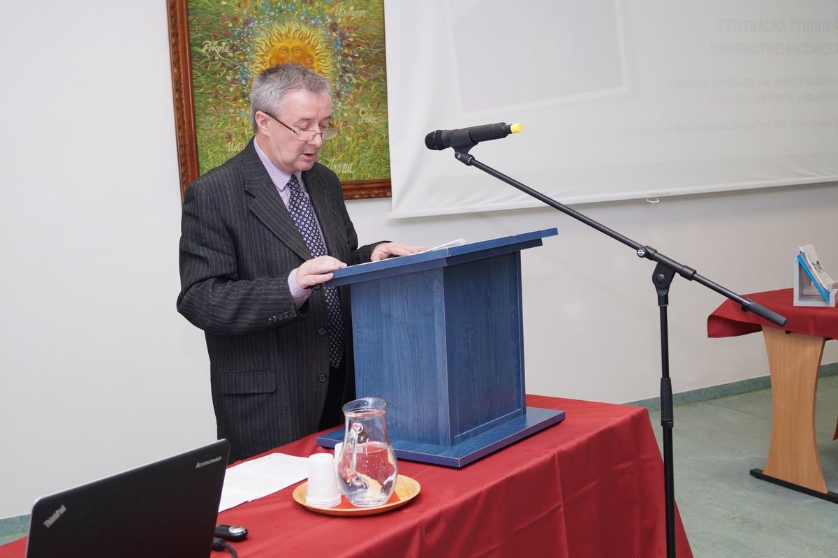 Odborný spomienkový seminár Viliam Tarjányi