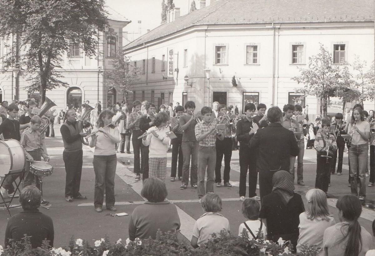 Ózd, Maďarsko 1981