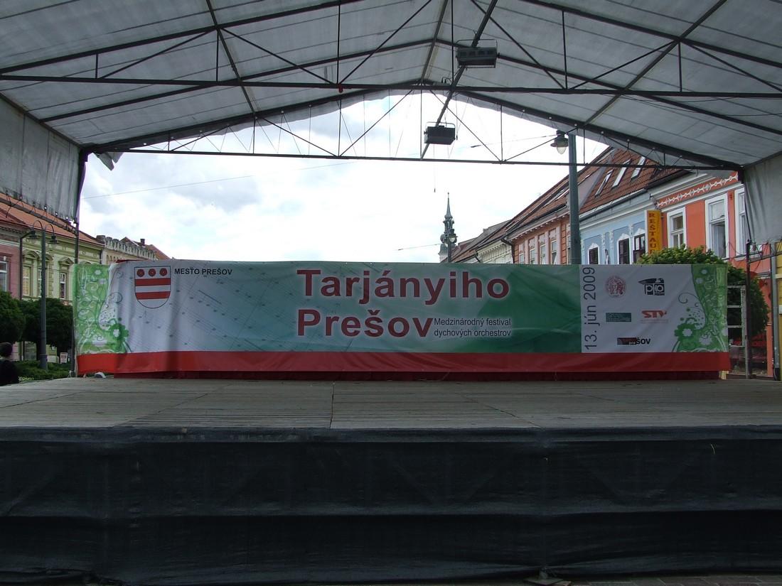 Banner Tarjányiho Prešov